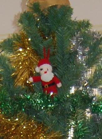 Xmas knitted Santa